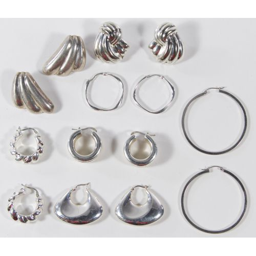Sterling Silver Earring Assortment