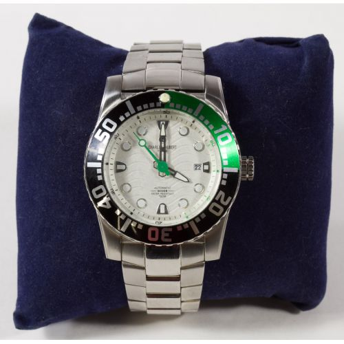 Charles-Hubert Automatic Diver Wrist Watch 10ATM