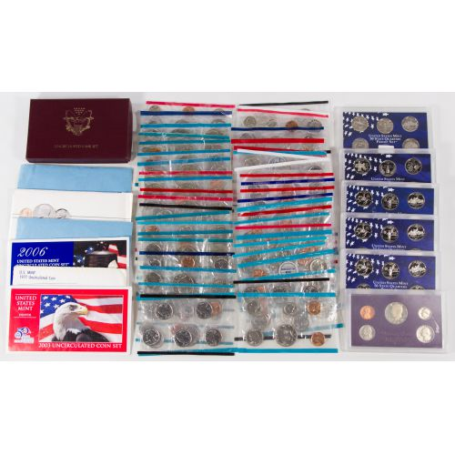 US Proof and Mint Sets