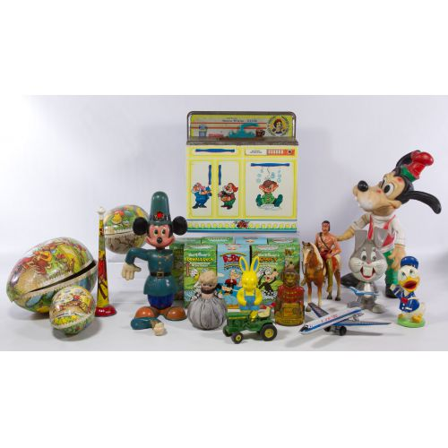 Disney Toys and Soap Assortment