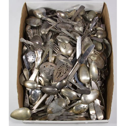 Silverplate Flatware Assortment