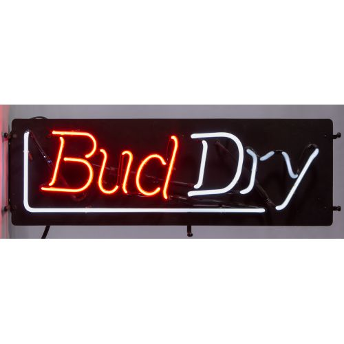 Bud Dry Neon Sign by Everbrite