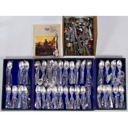 Wm Rogers Presidential Spoon Collection