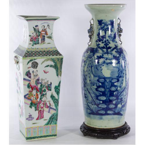 Asian Floor Vases