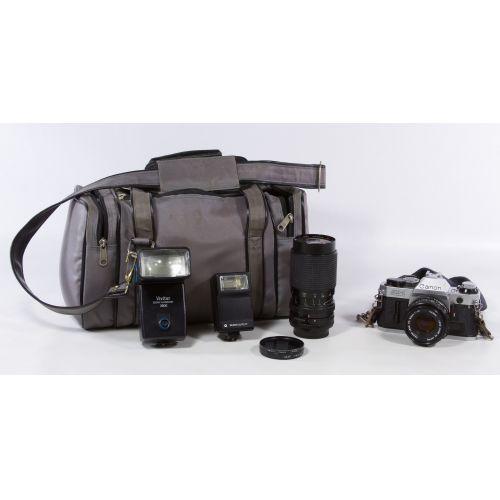 Canon AE-1 Program 35mm Camera
