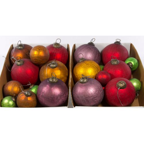 Crackle Glass Ornaments by World Market