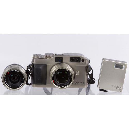 Contax G1 35mm Rangefinder Camera