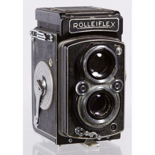 Frank & Heidecke Rolleiflex DRP DRGM Compur-Rapid Camera