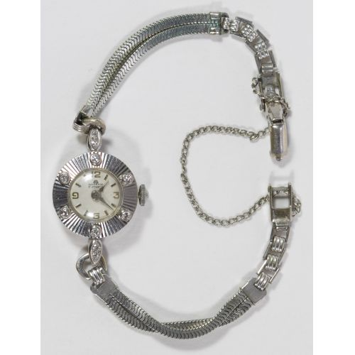 Bucherer 18k Gold and Diamond Cased Wrist Watch