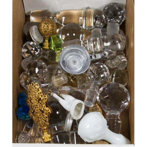 Decanter and Perfume Bottle Stopper Assortment