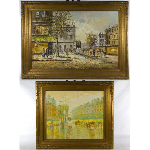 Presno (20th Century) Oil on Canvas