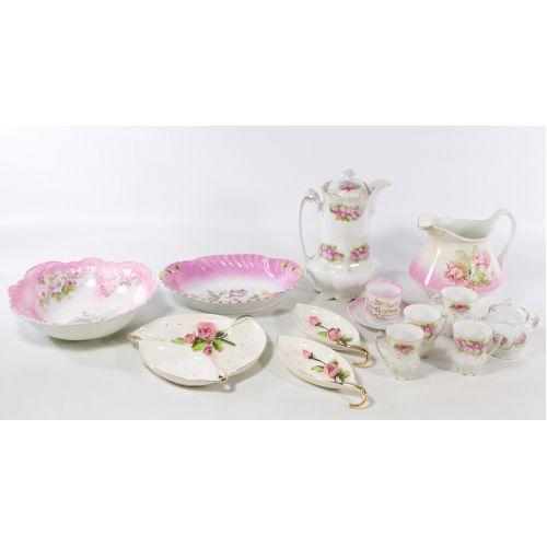 Austrian and Lefton Ceramic Assortment