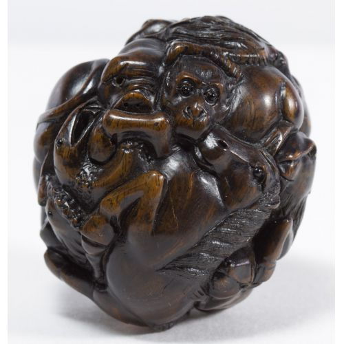 Carved Asian Nut