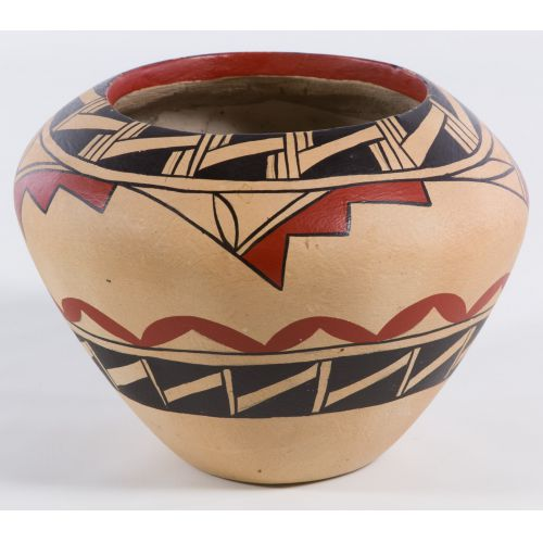 American Indian Pottery Vase by G. Fragua