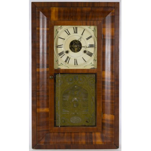 Seth Thomas Mahogany Shelf Clock