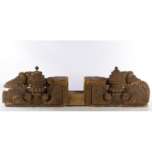 Carved Wood Corbel