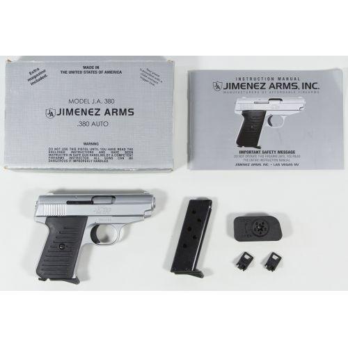 Jimenez Arms Model J.A. 380 .380 ACP Pistol (Serial #291492)