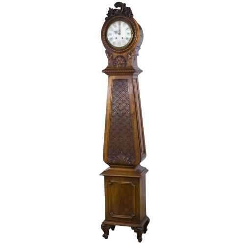 19th Century Walnut Tall Case Clock