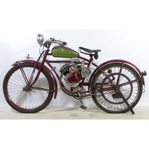 Whizzer Motorbike on an Elgin Frame