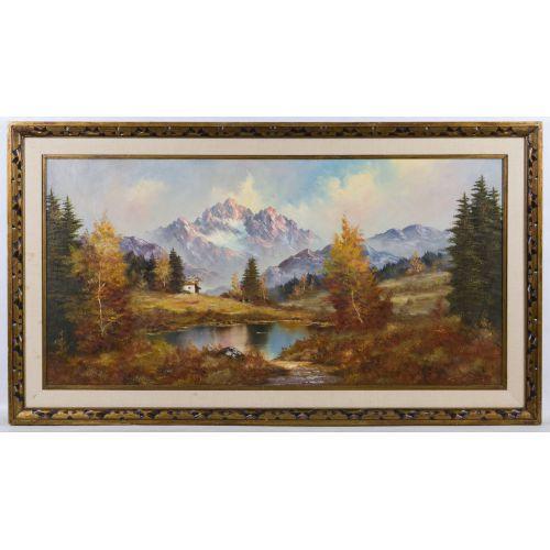 Unknown Artist (20th Century) Oil on Canvas