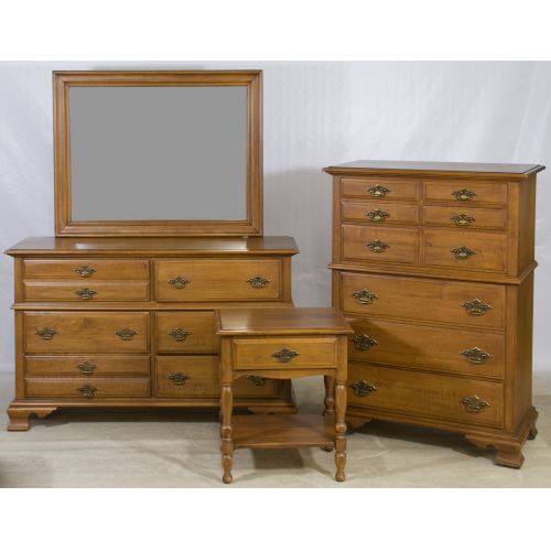 Maple Bedroom Set by Young-Hinckle for Maple House