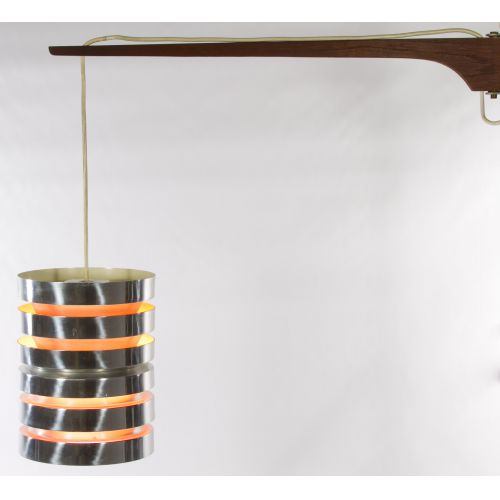 Danish Modern Wall Mount Lamp by Carl Thore