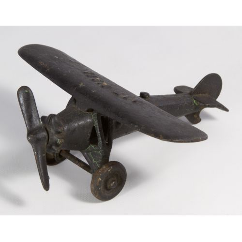 "Kenton ""Air Mail"" Cast Iron Toy Airplane"