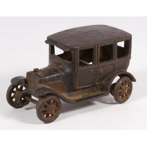 "Arcade ""Touring"" Cast Iron Car"