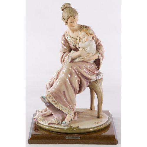 "Armani ""Mother and Child"" Figurine"