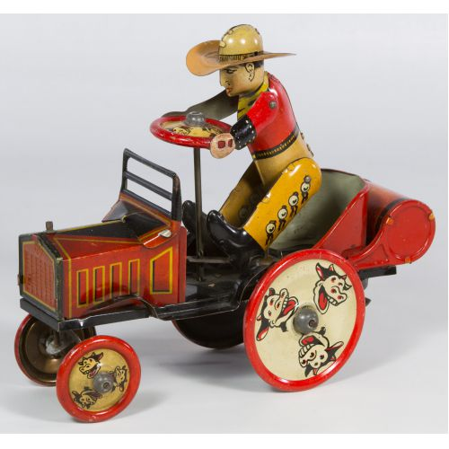 """Marx """"Whoopee Car"""" Tin Wind-Up Toy"""
