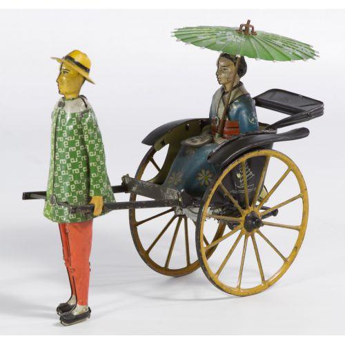 "Lehmann ""Masuyama"" Tin Wind-Up Toy"