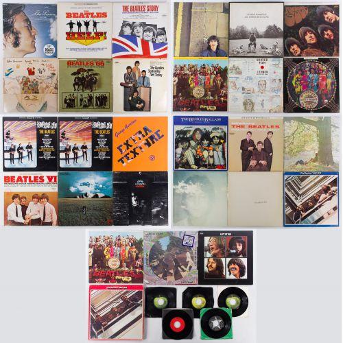 Beatles Record Assortment