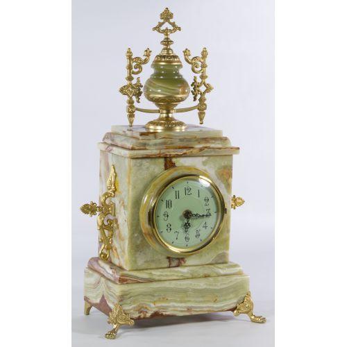 Alabaster Mantel Clock