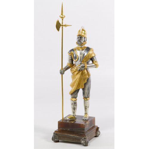 Italian Conquistador Statue by Vasari