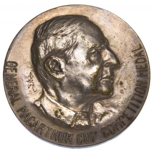 1947 General MacArthur Cup Competition Medal
