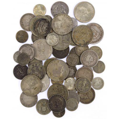 World: Silver Coin Assortment