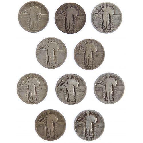 1927-S 25c Assortment G