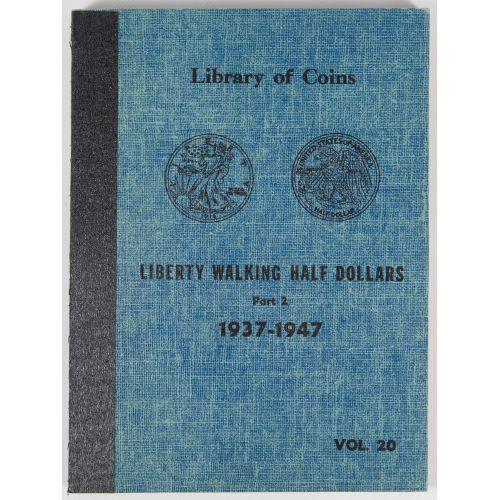 Liberty Walking Half Dollar Partial Set AU/UNC