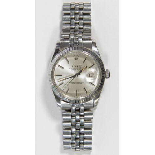 Rolex Perpetual DateJust Quickset Wrist Watch