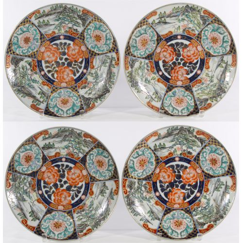 Japanese Imari Ceramic Plates