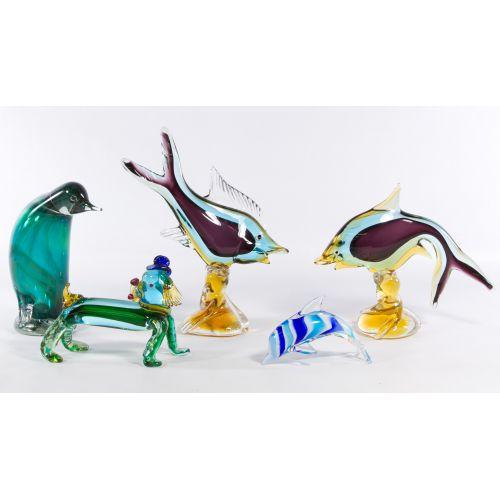 Art Glass Animal Assortment