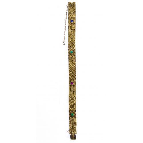 22k Gold Hand Made Link Bracelet