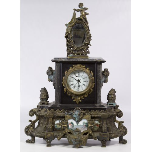 French Style Wind-up Mantel Clock