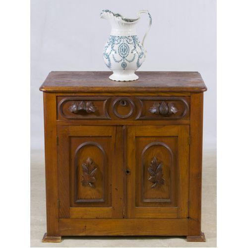 Victorian Oak Wash Stand