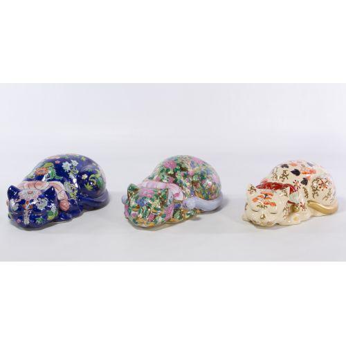 Asian Porcelain Cats