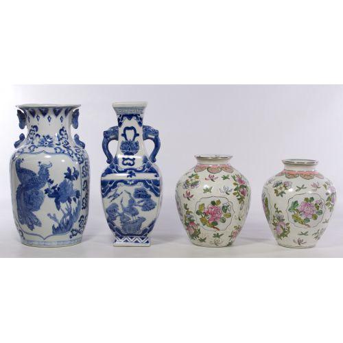 Asian Porcelain Vase Assortment