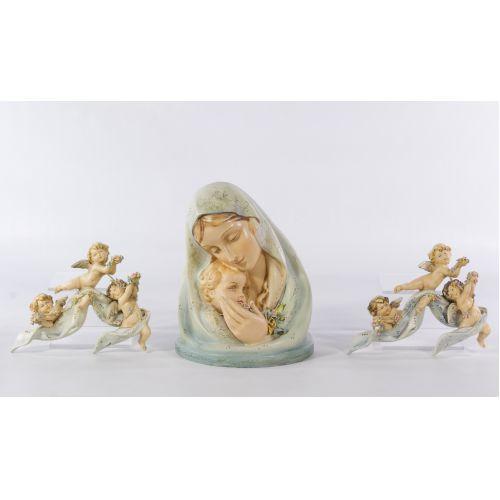 Borsato Madonna & Child Figurine