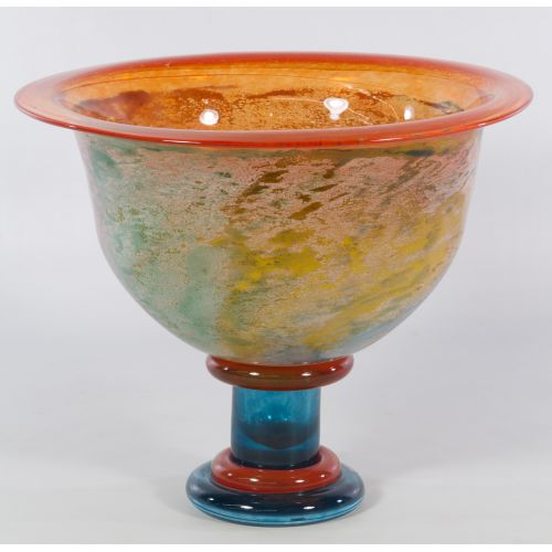 "Kosta Boda Art Glass ""Cancan"" Bowl by Kjell Engman"