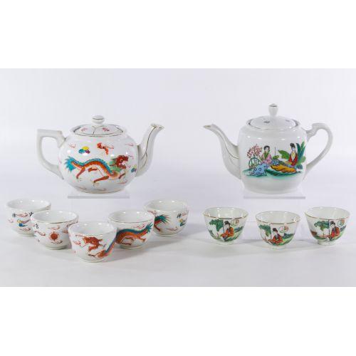 Asian Porcelain Tea Service Sets