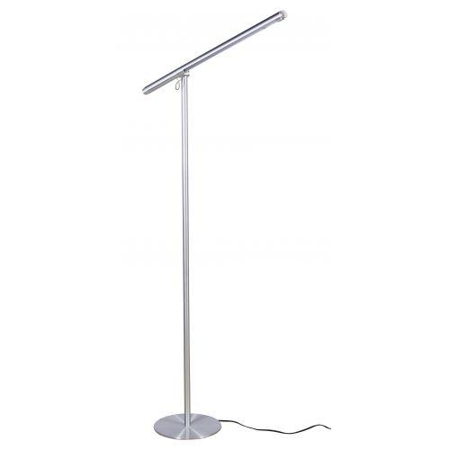 Mid-Century Modern Aluminum Brazo Floor Lamp